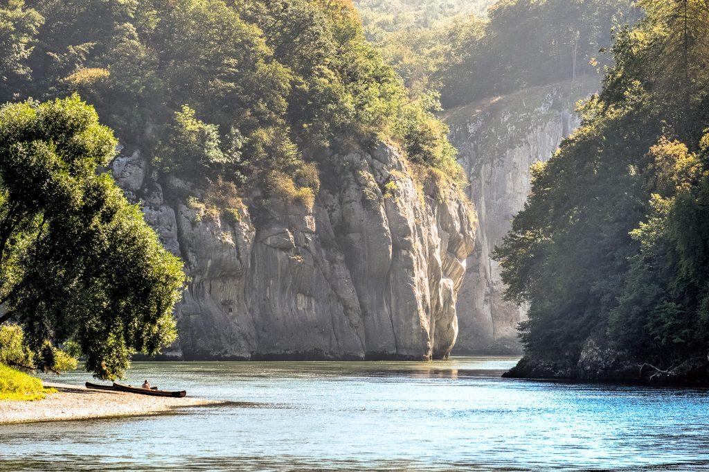 Donaudurchbruch von 'vorn'