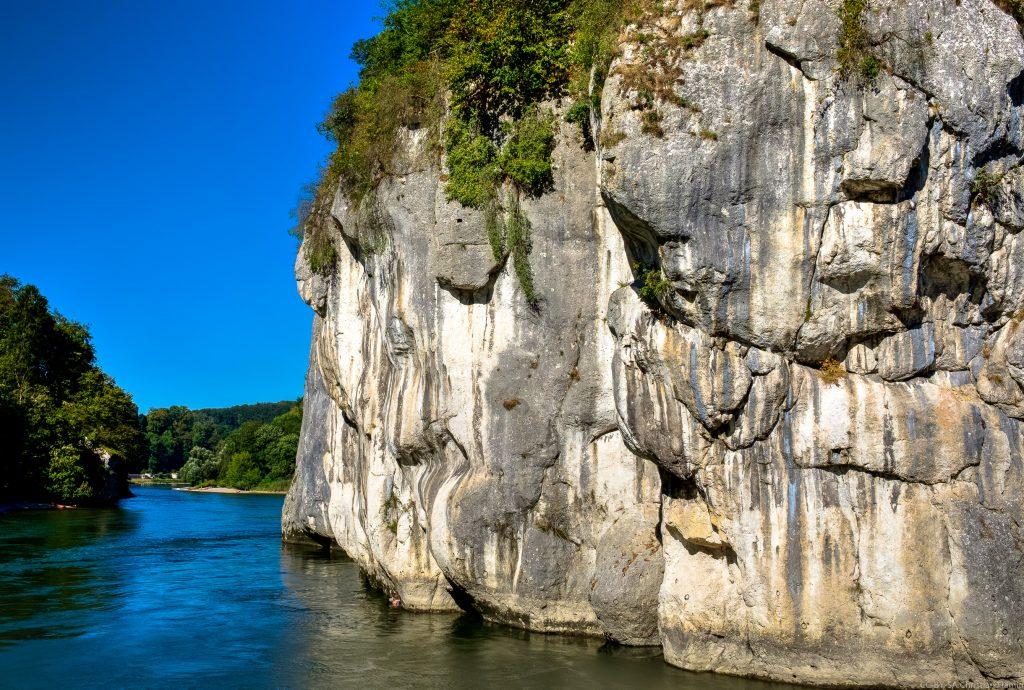 Donaudurchbruch von 'hinten'